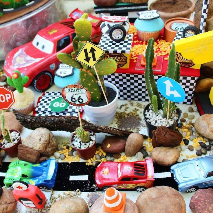 Karas Party Ideas Disney Cars Themed Birthday Party Disney Cars