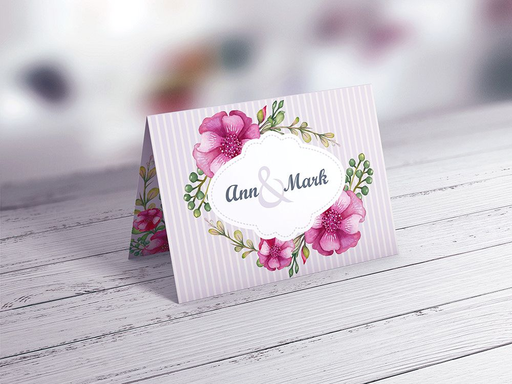 Invitation \ Greeting Card MockUp vol2 Christmas envelopes - download invitation card