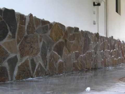 Natursteinmauer Bauanleitung zum selber bauen Gartenmauer