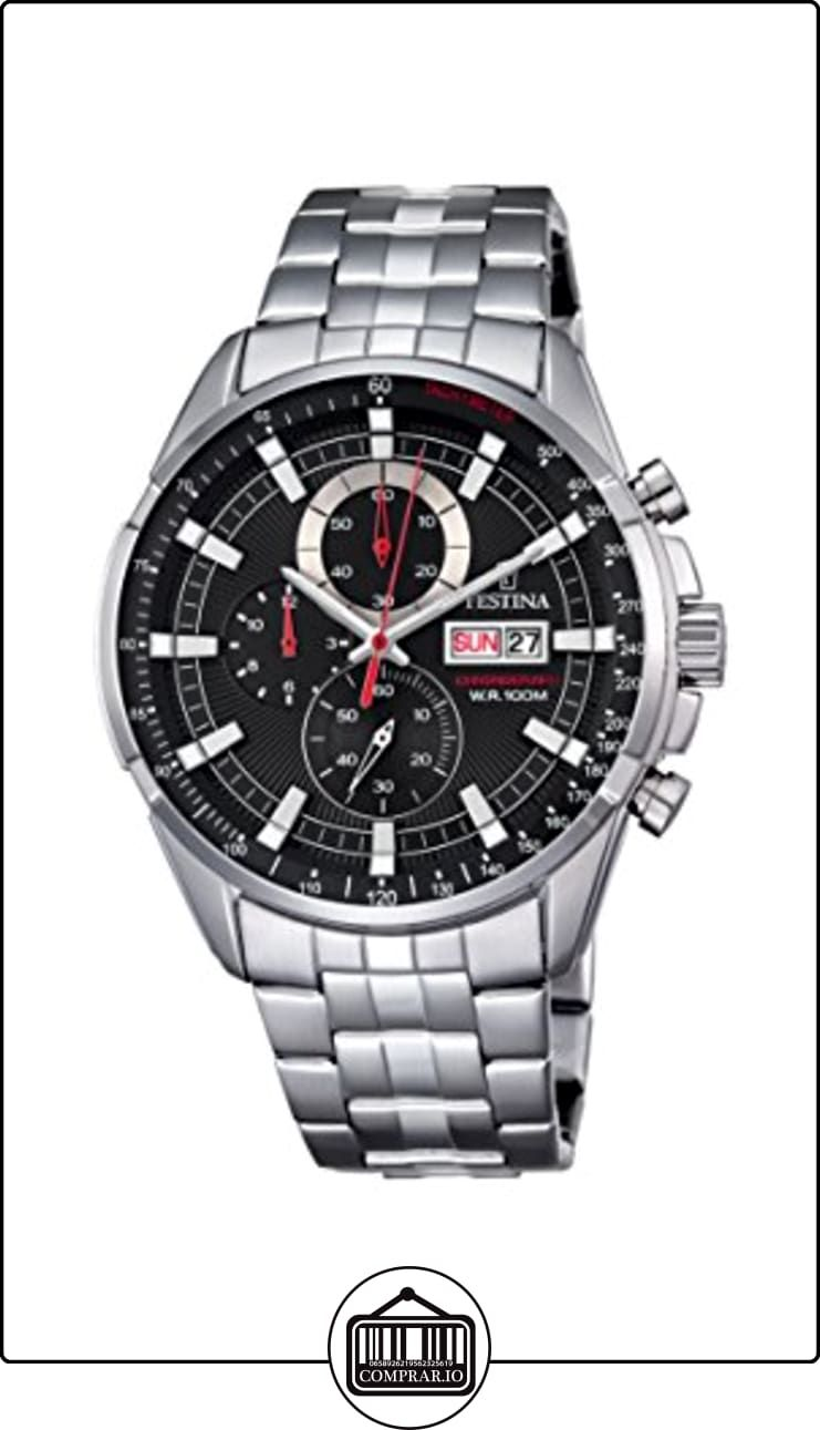 9a805b662c41 Festina Chrono - Reloj de cuarzo para hombre con cronógrafo para hombre  (mecanismo de cuarzo