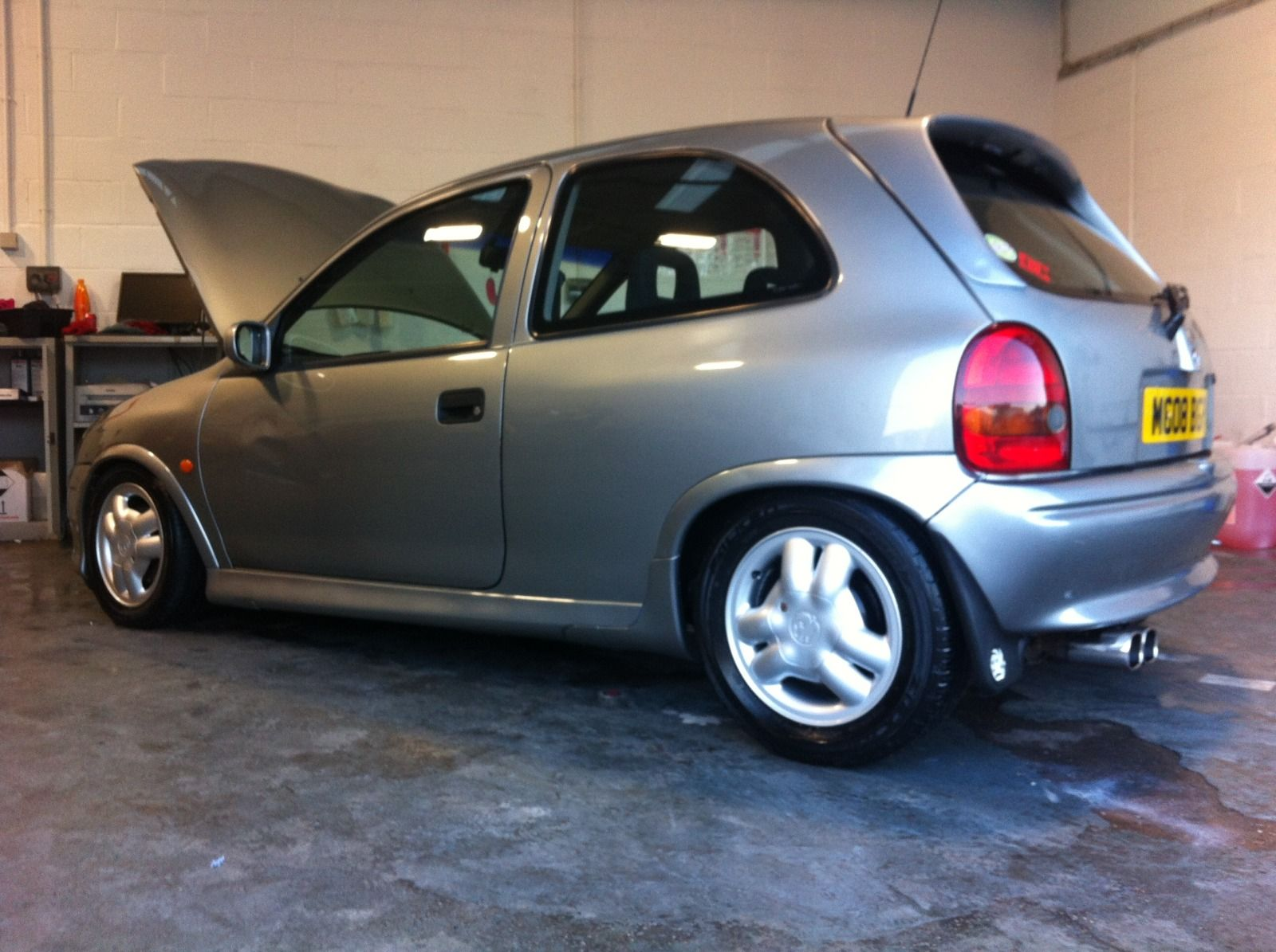 vauxhall corsa gsi smoke grey low miles reduced to 1300. Black Bedroom Furniture Sets. Home Design Ideas