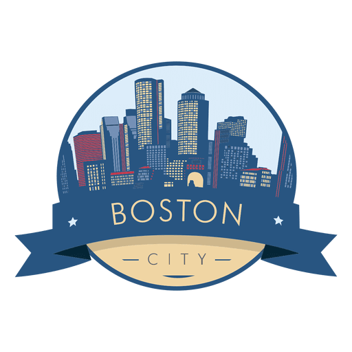 Boston City Skyline Badge Ad Sponsored Ad City Skyline Badge Boston City Skyline Watercolor City Boston Skyline