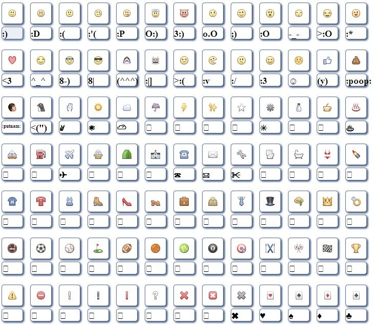 List of Facebook Emoticons - AOL Image Search Results | facebook ...