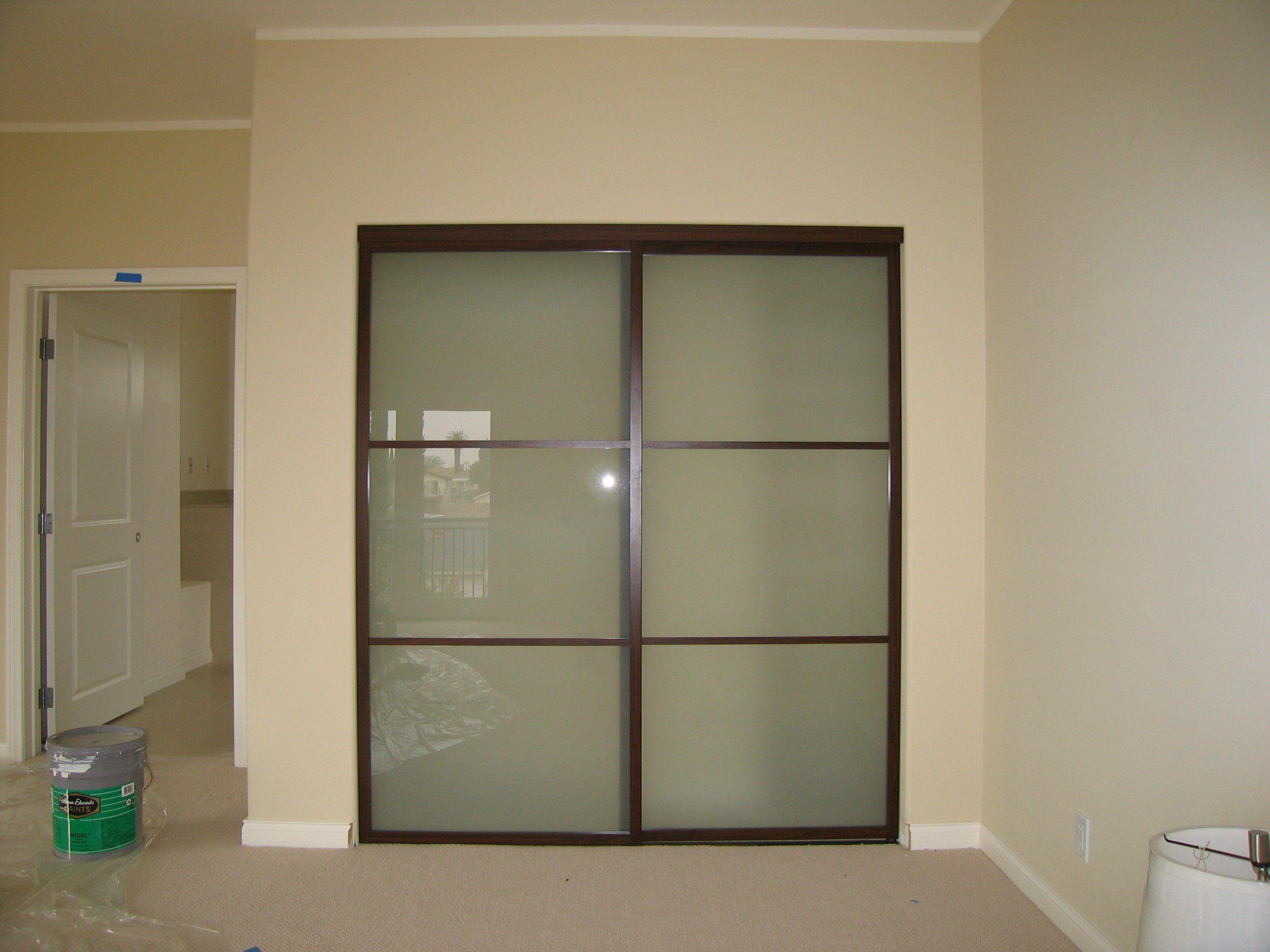 Charmant Modern Glass Bifold Closet Doors