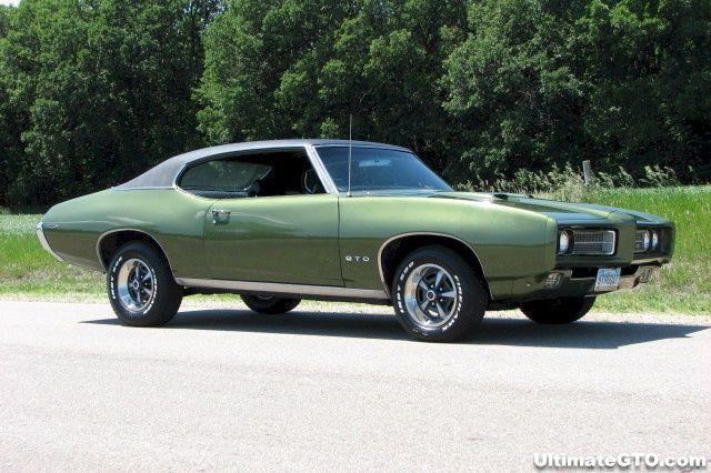 Verdoro Green 1969 Gto Hardtop Ultimategto Com Pontiac Gto 1969 Gto Car 1969 Gto
