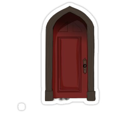 Red Room The Haunting Of Hill House Sticker By Hannahllb In 2020 House On A Hill Red Rooms House Drawing