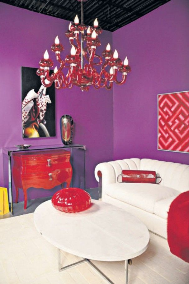 ordinary Red And Purple Living Room Part - 7: Purple and red | Bedroom mady | Pinterest | Purple, Living rooms and Room