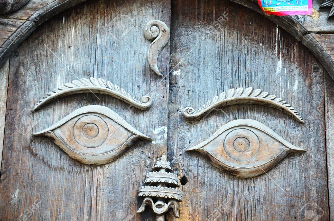 Door In Hanuman Dhoka Is A Complex Of Structures With The ...