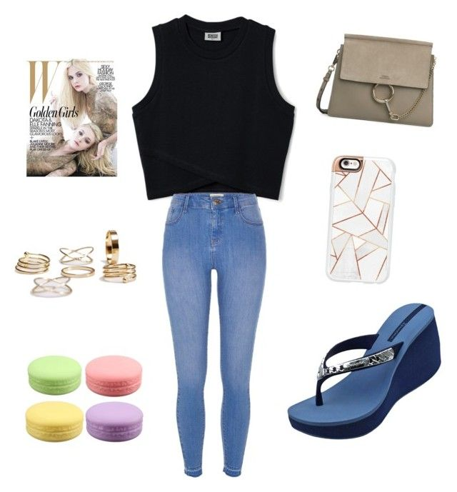 """""""Morning session"""" by cattycatty1313 ❤ liked on Polyvore featuring IPANEMA, River Island and Casetify"""