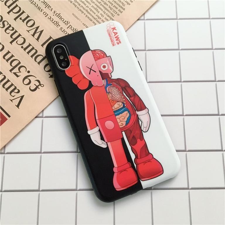 KAWS Bear Case iPhone 6 6S 7 8 Plus