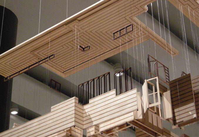 Model Of Frank Lloyd Wrights Herbert Jacobs House 1