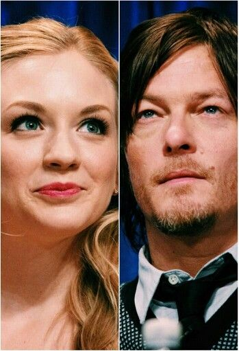Emily And Norman Normily The Walking Dead Bethyl Emily Kinney Daryl Dixon The Walking Dead