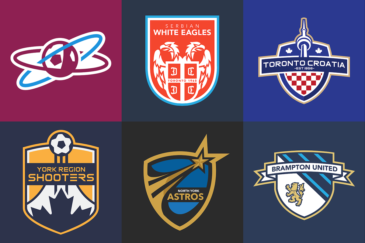 Canadian Soccer League Concepts On Behance Soccer Logo Sports