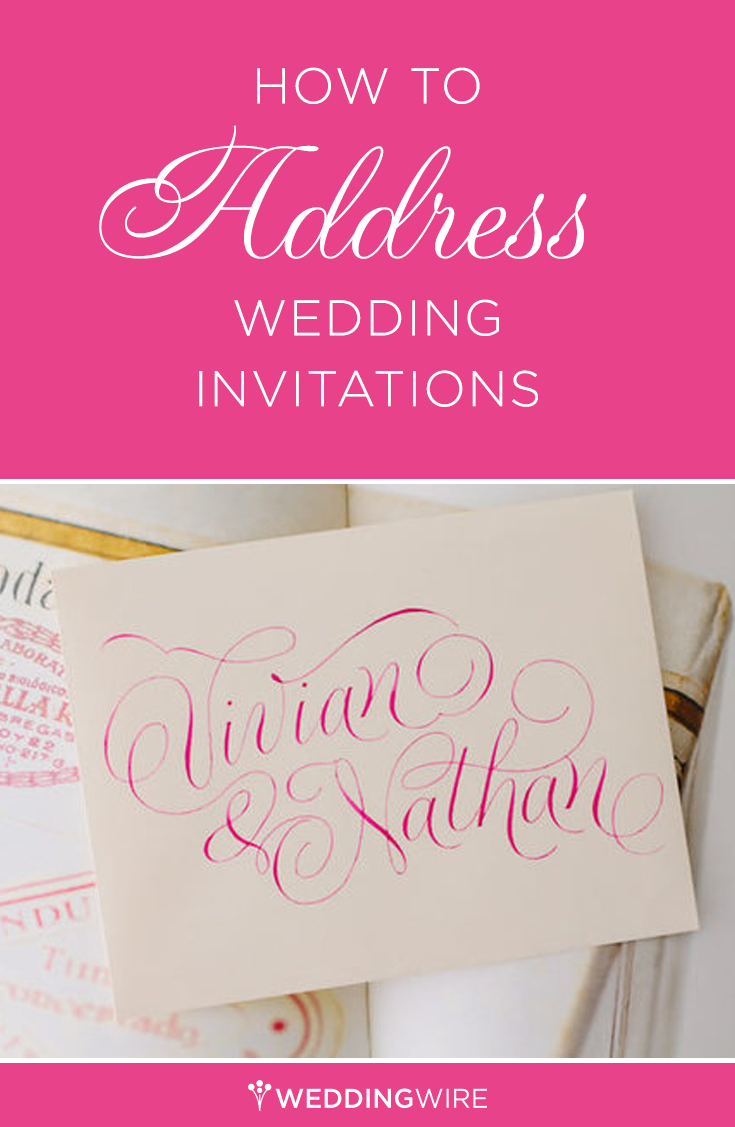 How To Address Wedding Invitations So You Don T Offend Anyone Wedding Invitations Wedding Invitation Etiquette Addressing Wedding Invitations