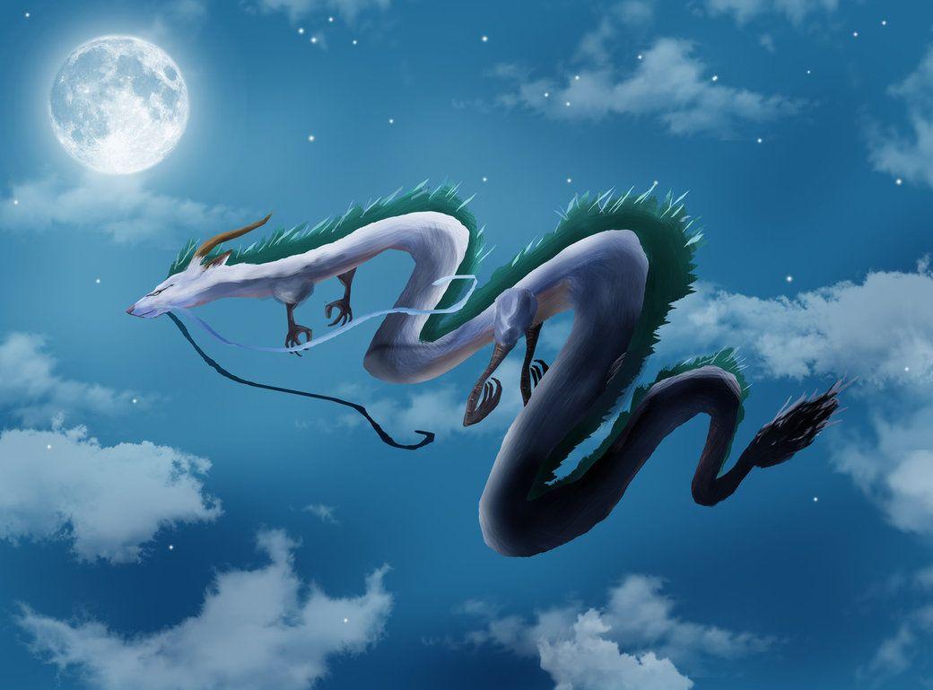 Images For Haku Spirited Away Wallpaper