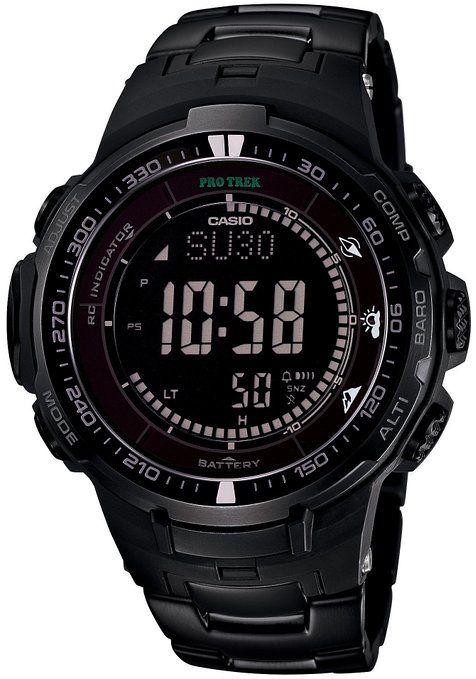 Casio PROTREK Black Titan Limited Series