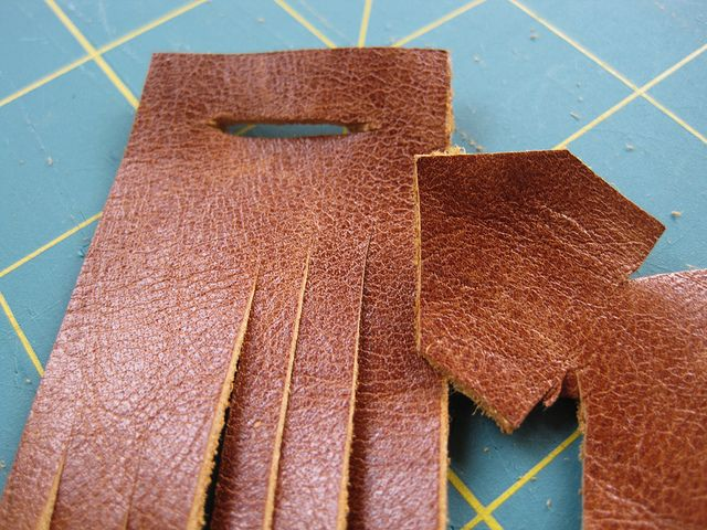 Leather Cuff by cottage revolution, via Flickr