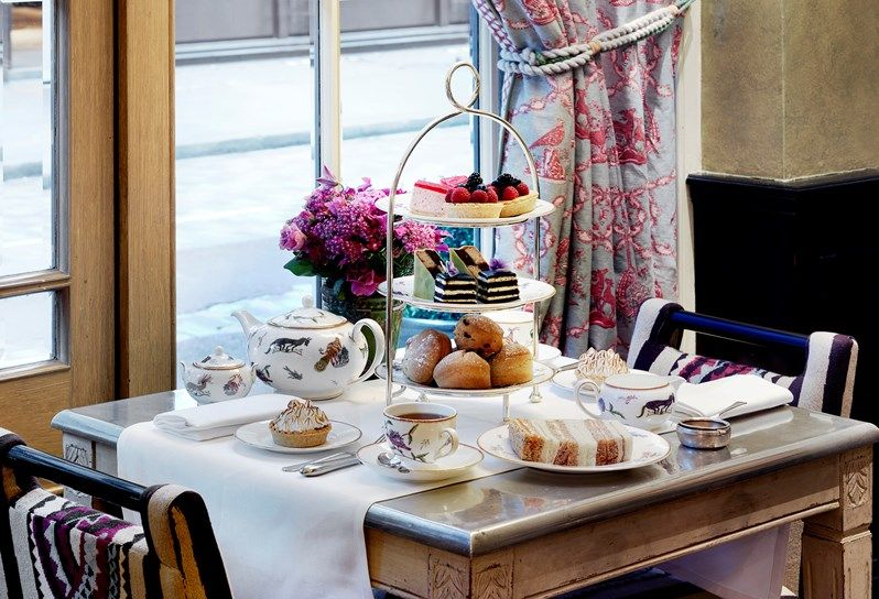 Firmdale hotels afternoon tea covent garden hotel