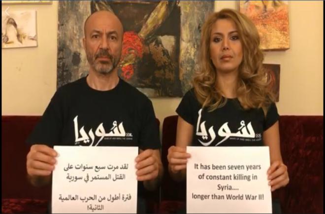 جهاد عبده يوقف إضرابه عن الطعام World War Syria Seventh