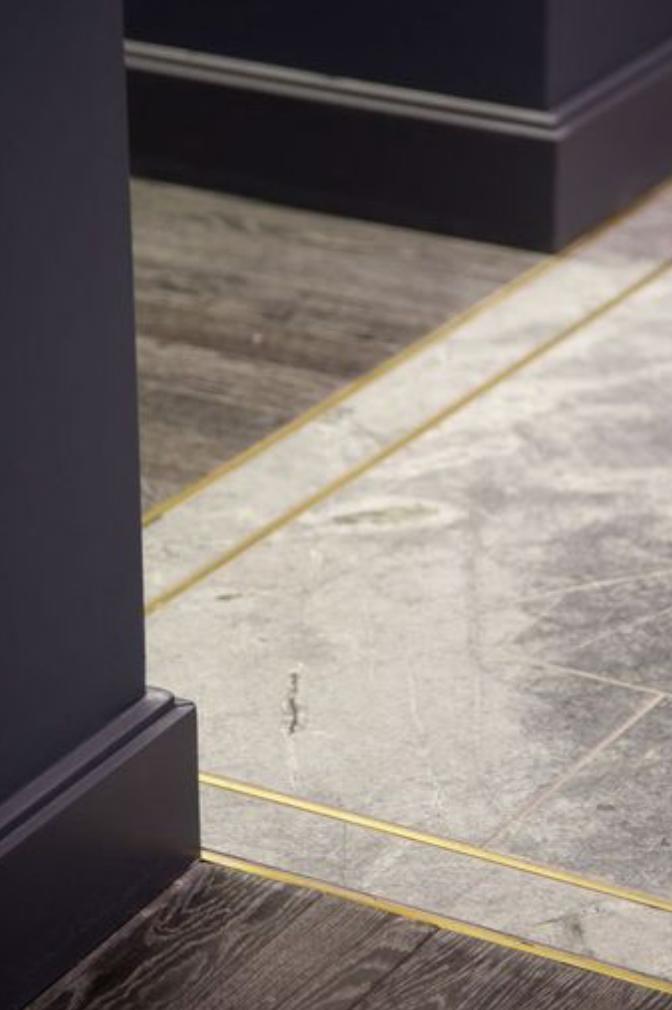 Gold Schluter Residential Details Entries Foyers Pinterest