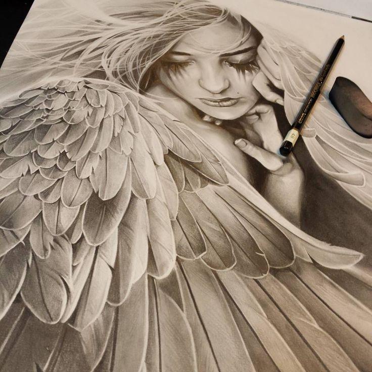 Pin On Angel Tattoos
