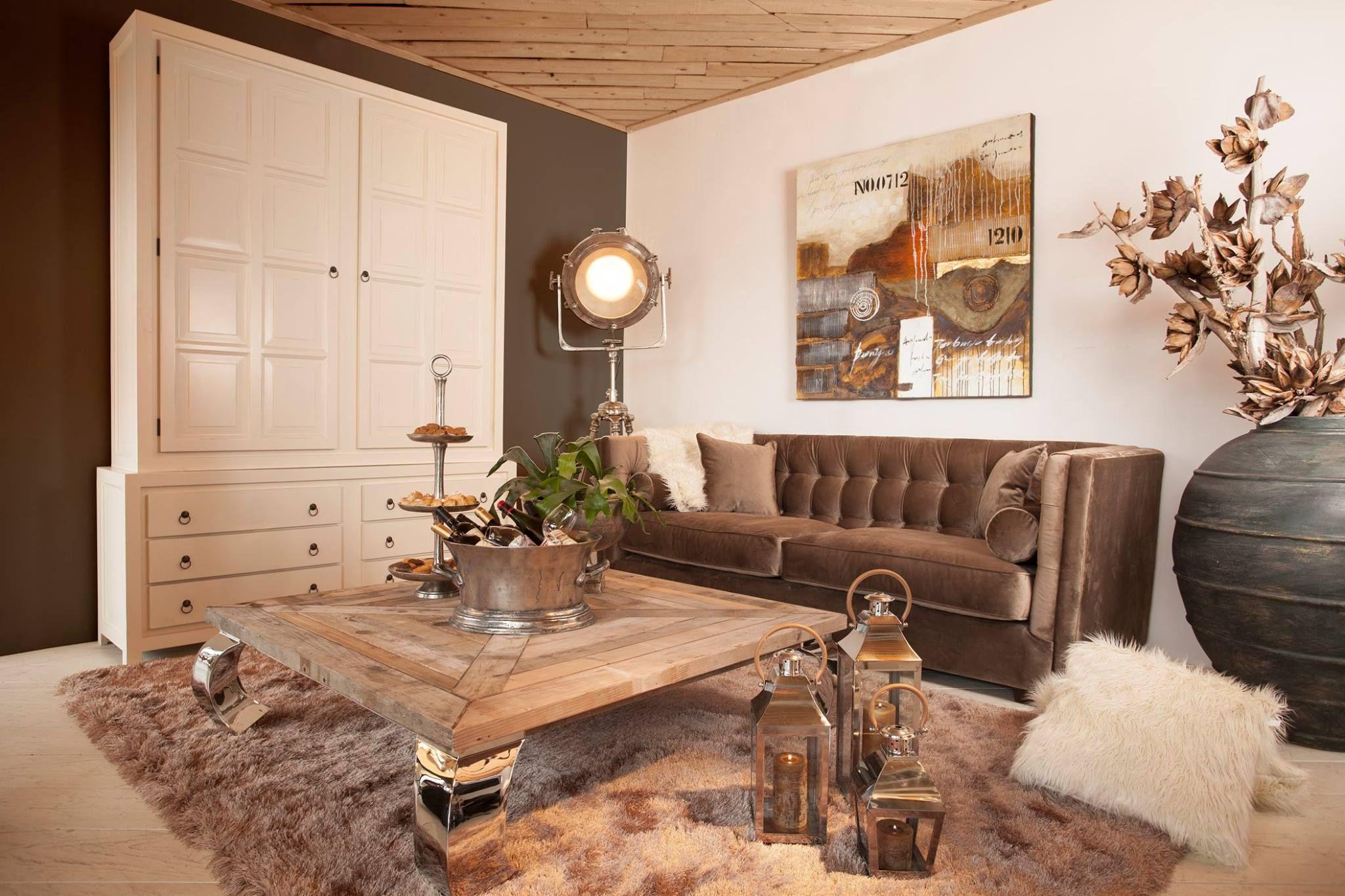 Woonkamer met warme uitstraling | Rofra Home #knus #warm #sfeervol ...