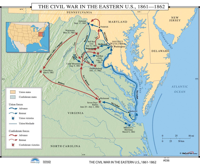 U S History Wall Maps