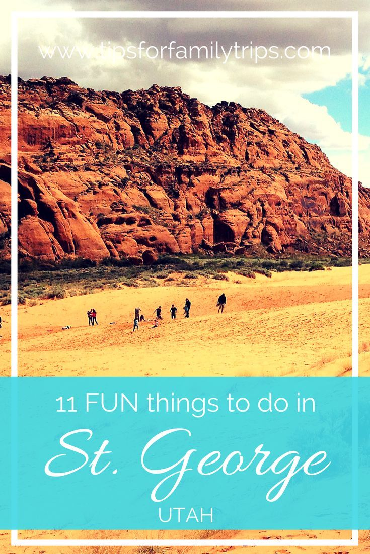 11 FUN things to do in St. George Utah with kids | tipsforfamilytrips.com | Zion National Park | Southern Utah | travel | spring break | outdoor | family vacation | budget