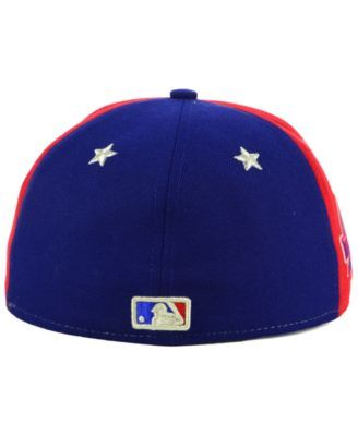 hot sales 4f36e 11f68 New Era Boys  Philadelphia Phillies All Star Game w Patch 59FIFTY Fitted Cap  - Navy Scarlet White 6 5 8