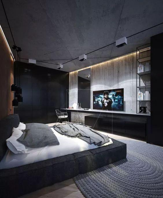 44 Dedroom Bed Design Ideas Page 12 Of 44 Lovein Home Luxury Bedroom Master Modern Bedroom Design Luxurious Bedrooms Mens luxury bedroom ideas