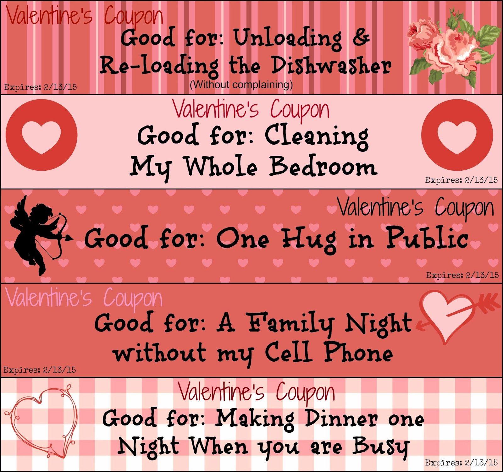 naughty valentines day voucher pdf