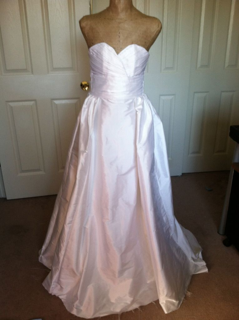 Ever thought of making your own wedding dress? Here\'s the tale of a ...