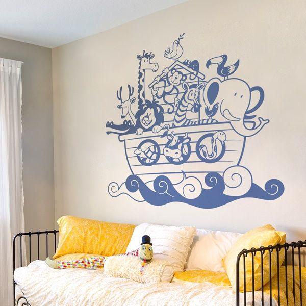 Vinilos infantiles para paredes descubre nuestros mejores for Sticker habitacion infantil