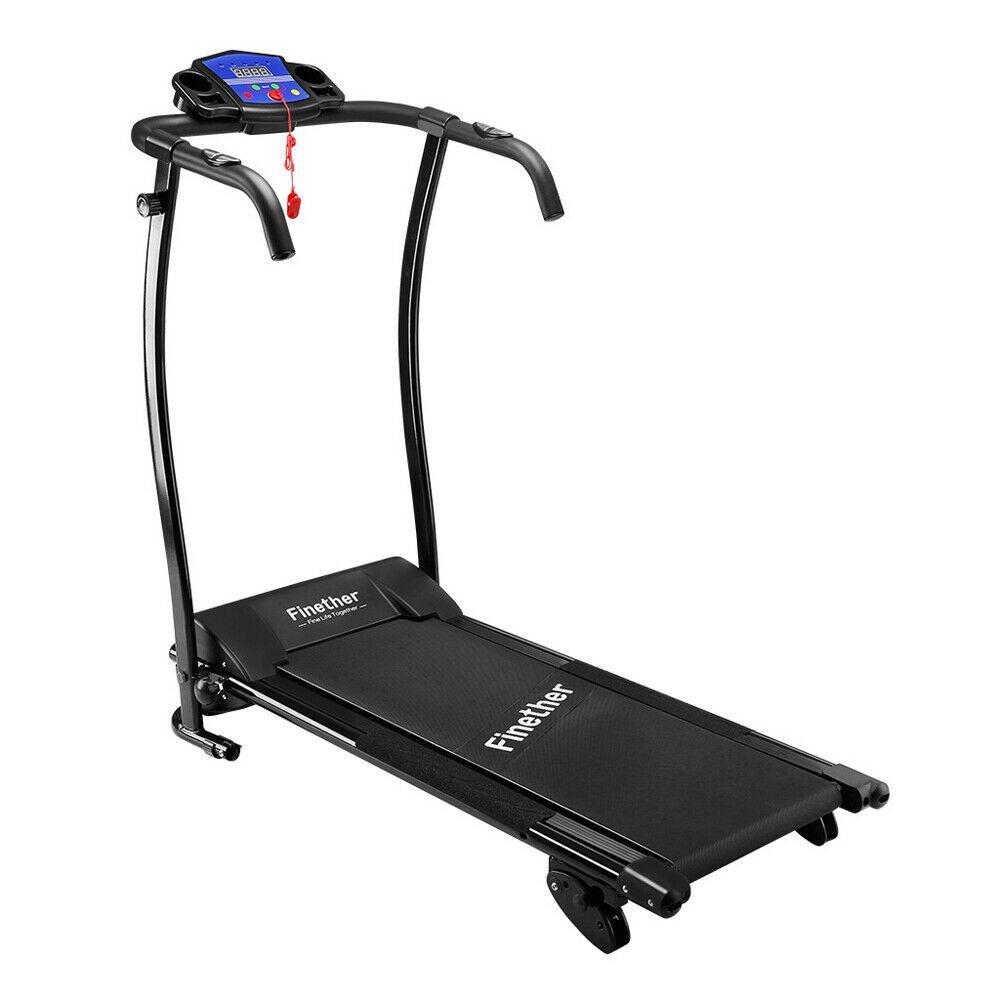 pliant electric treadmill
