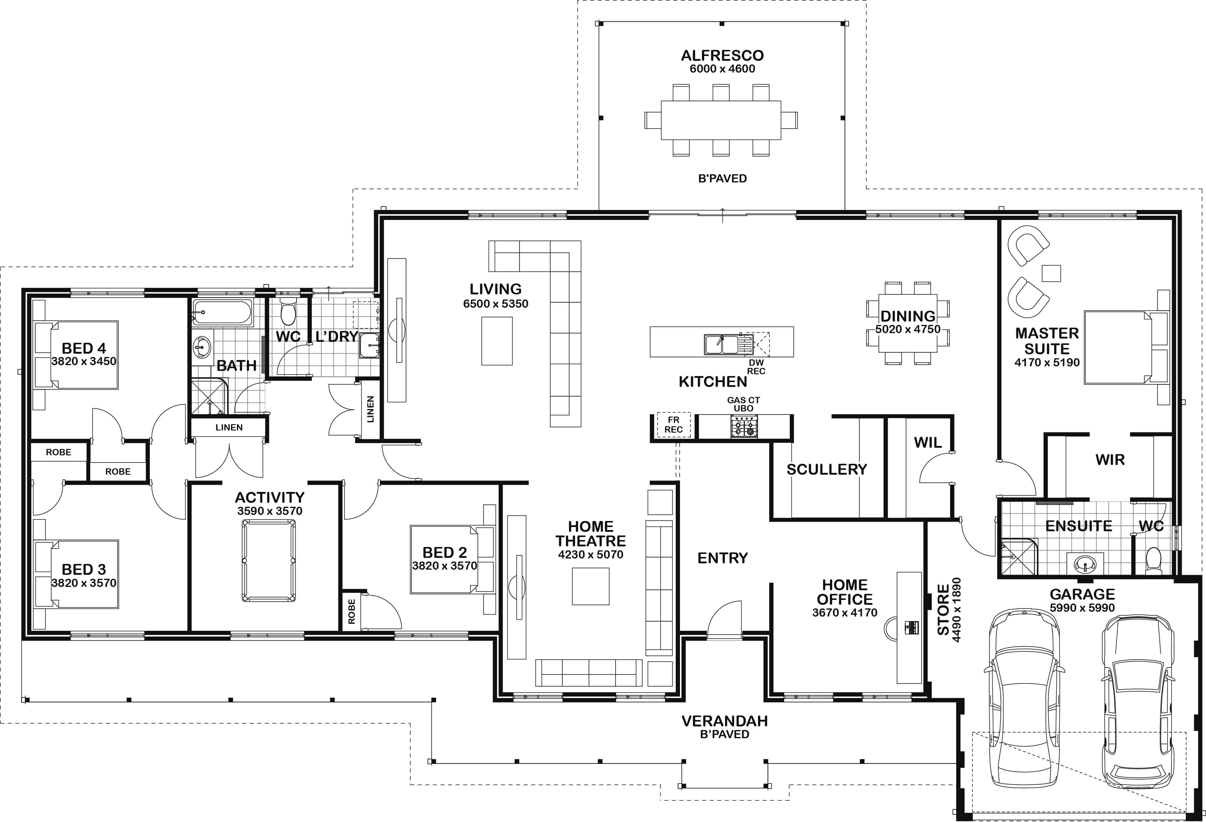 Home Designs Perth House Plans Australia Farmhouse Floor Plans Country House Design