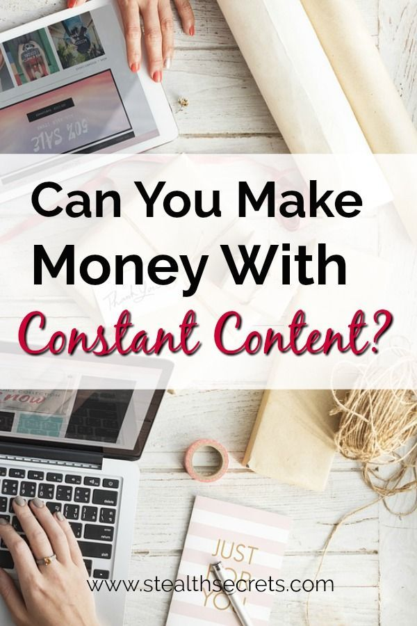 Constant Content Review – Legit Pay or Scam | Make Money From Home