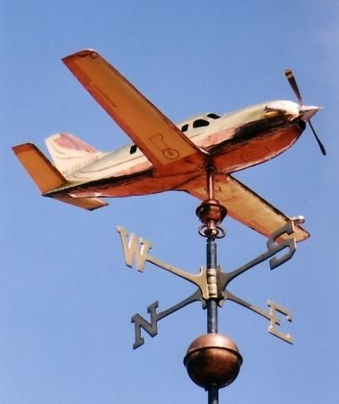 Our Socata TBM 700 Airplane Weathervane is a 3D replica of