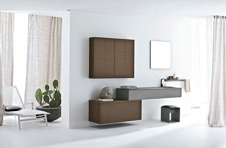 Modern and natural bathroom by Altamarea | Modern bathrooms ...