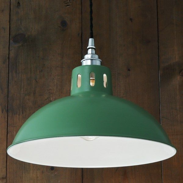 Osson factory pendant by mullan lighting
