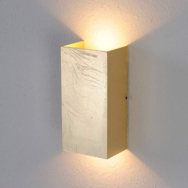 Klassiek Goudkleurige Led Wandlamp Mira Muurverlichting Wandlamp Led