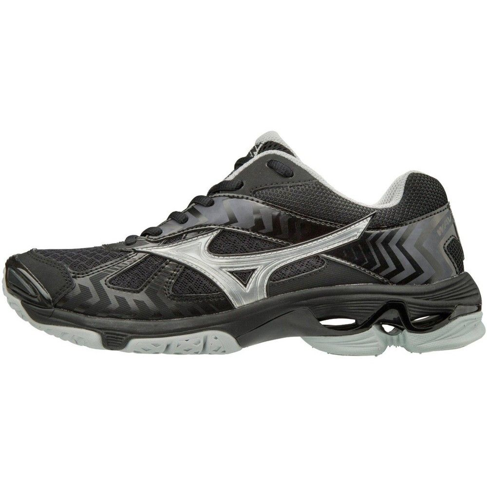 Mizuno Wave Bolt 7 Women S Volleyball Shoes Womens Size 6 5 In Color Black Silver 9073 Volleyball Shoes Mens Volleyball Shoes Mizuno Shoes