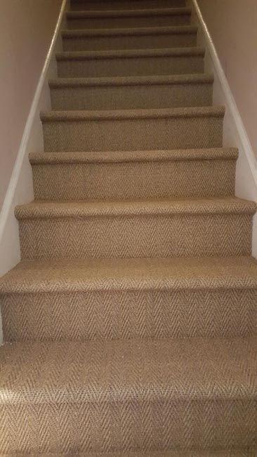 Stairs Sisal Carpet Carpet Stairs Carpet Installation
