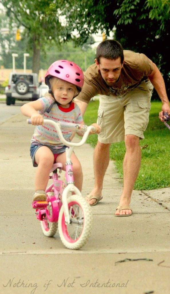 Easiest Way To Teach Your Child How To Ride A Bike With Images