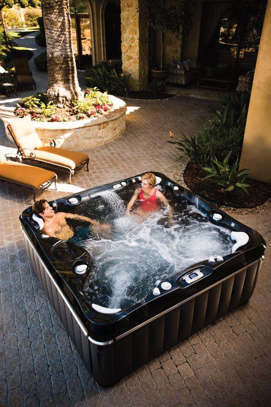 Niagara Seven Person Hot Tub Reviews And Specs Caldera Spas Hot Tub Reviews Hot Tub Hot Tub Outdoor