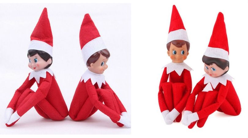 Hot Sale New Elf On The Shelf Boy And Girl Set 6 72 Elf On The