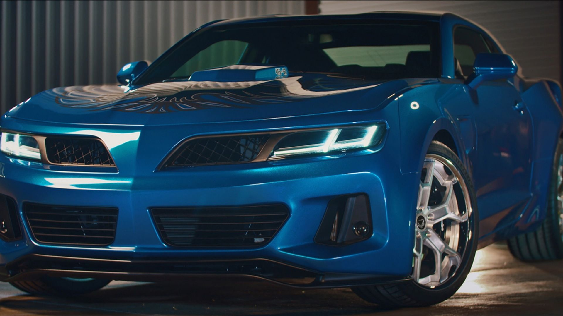 6thgen Camaro Trans Am conversion comes packing 1,000