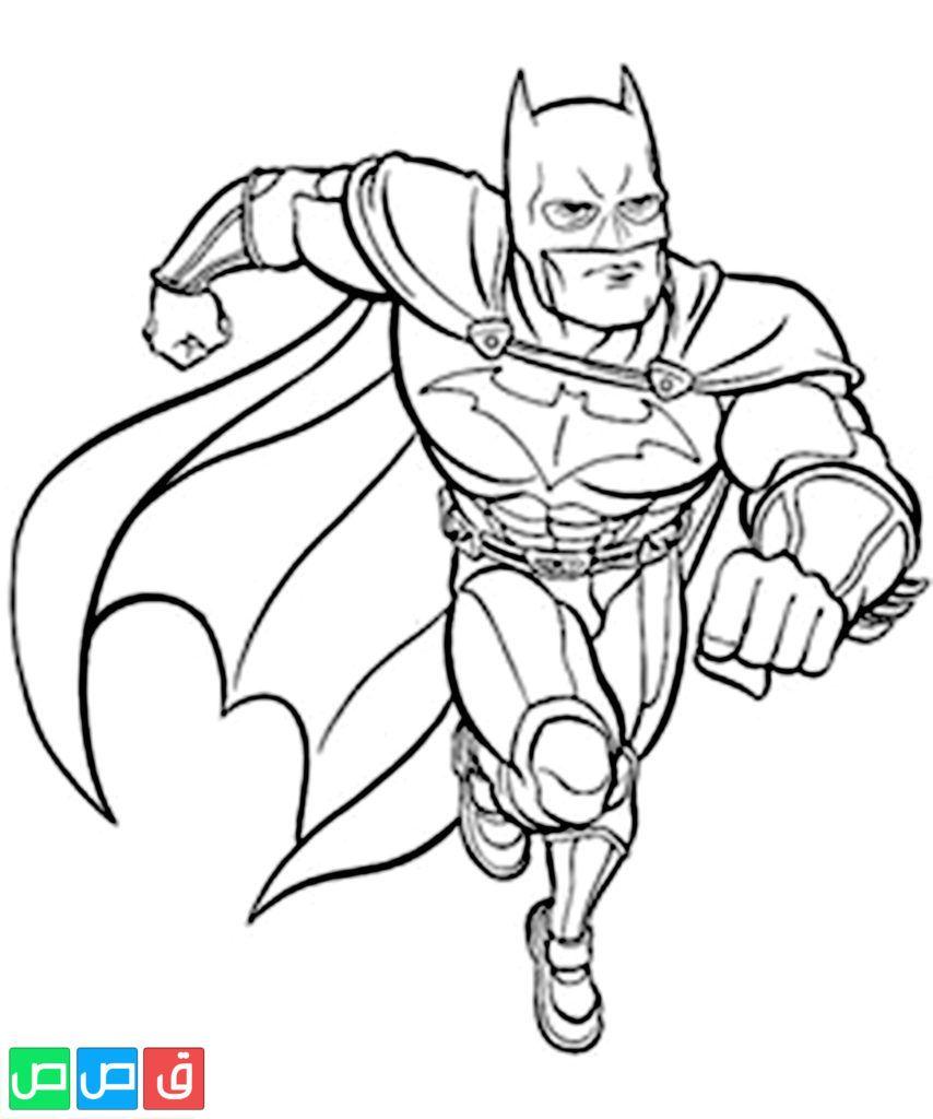 صور تلوين للاطفال Batman Coloring Pages Avengers Coloring Pages Superhero Coloring