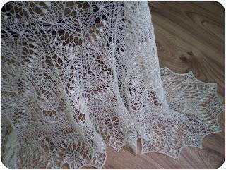 bridal lace shawl hand knit lace Wedding Shawl Estonian lace shawl