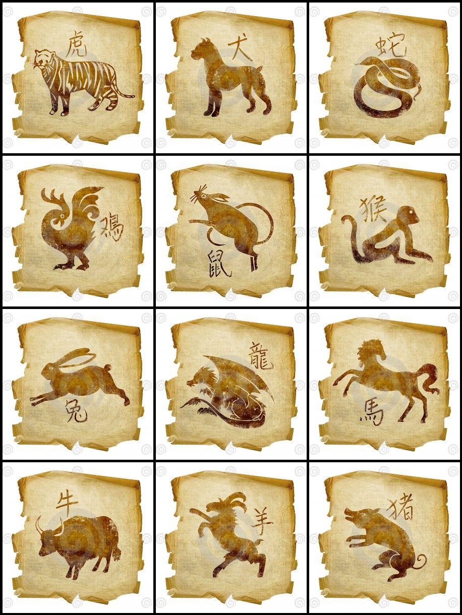 Simbolos De Signos Zodiacales