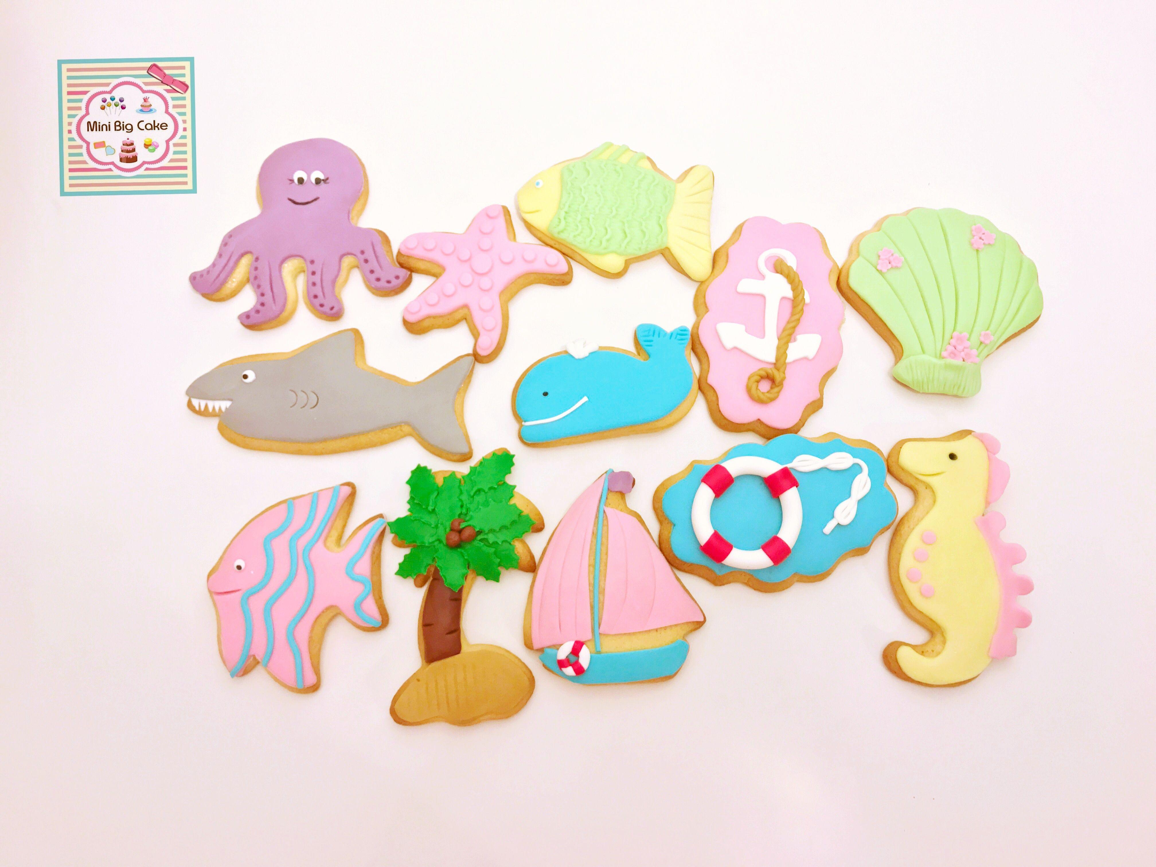 Sea cookies  Bolachas do mar